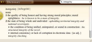 Screenshot grabbed from Oxford American Dictionary