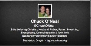 Chuck O'Neal, Spank adult children, Beaverton Grace Bible Church