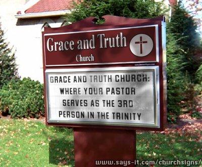 Churchsign HS
