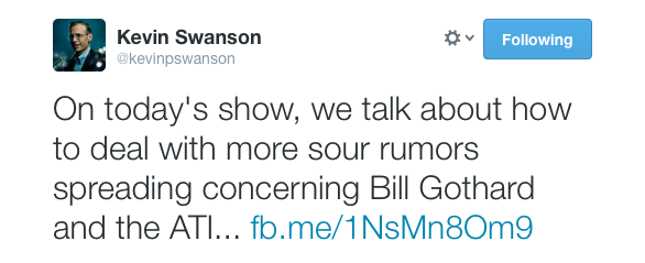 Kevin Swanson Defends Bill Gothards Sexual Harassment Charges While