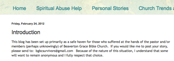 Beaverton Grace Bible Church, Chuck O'Neal, Spiritual Sounding Board Screen Shot 2014-02-24 at 10.51.09 AM
