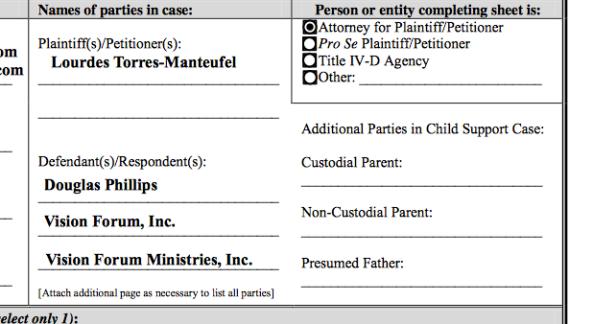 Vision Forum Lawsuit, Doug Phillips, Lourdes Torres, Sex Abuse Screen Shot 2014-04-15 at 8.19.29 AM