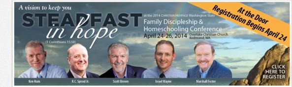 Kelly Crawford, Scott Brown, Israel Wayne, Ken Ham