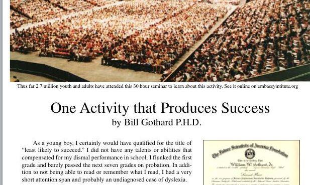 Total Success Power Teams Bill gothard