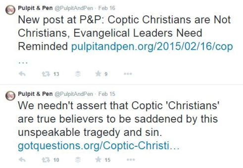 Pulpit and Pen, persecution, Coptic Christians, 21 Christians beheaded