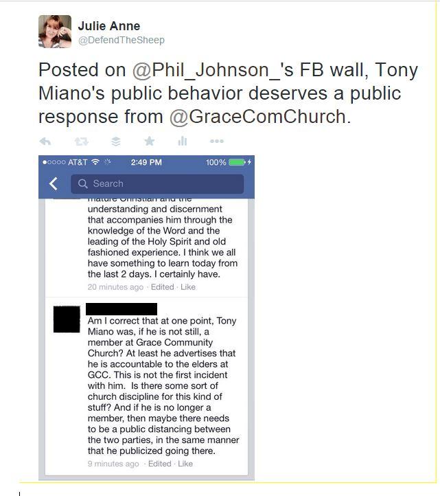 phil johnson, tony miano