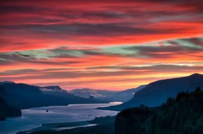 Gorge sunrise