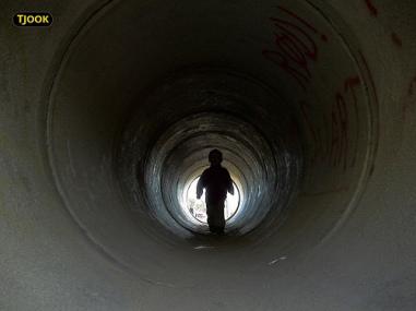 Tunnel mørk 007 til lyset