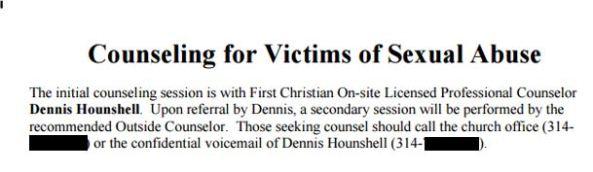 First Christian Church of Florissant, sex abuse, lawsuit, Brandon Milburn