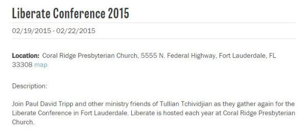 Paul Tripp, Tullian Tchividjian divorce