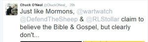 Chuck O'Neal, Spanking adult children, Beaverton Grace Bible Church
