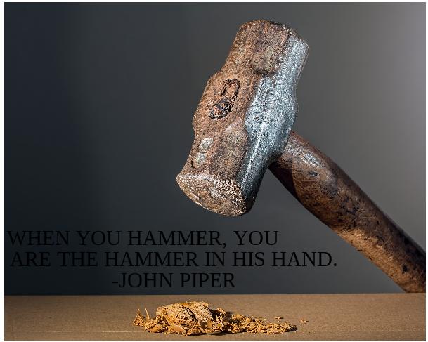 Piper hammer meme