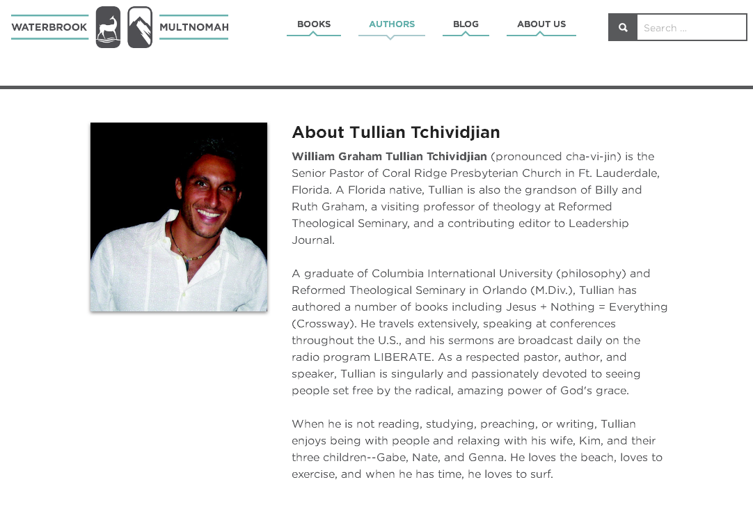 tullian-tchividjian-waterbrook-multnomah-bio-only