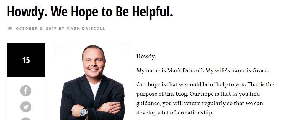 Mark driscoll homosexuality in japan