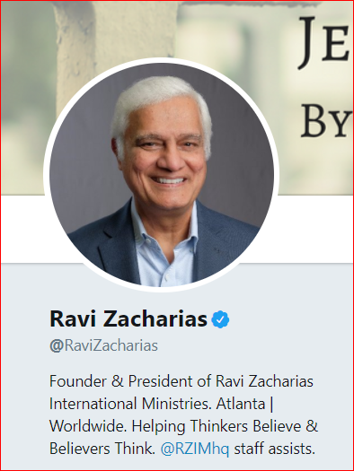 Acceptance of homosexuality in christianity-ravi zacharias creek