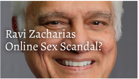 ravi zacharias, online sex scandal, lori anne thompson